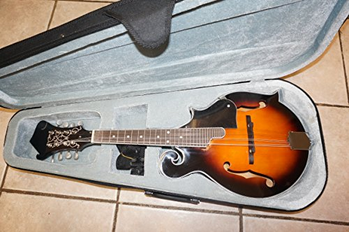 Mandolin, F Style with Hard Case by Savannah
