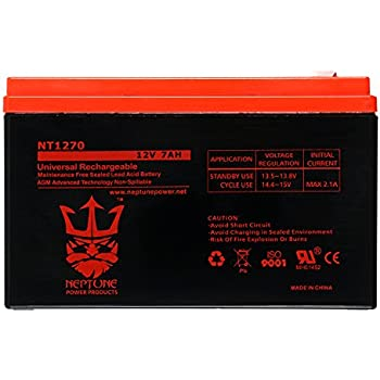 apc back-ups es 550 va be500c be500u battery replacement nt-1270 by neptune