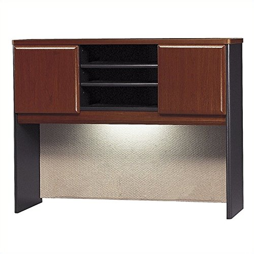Bush Business Furniture Series A Collection 48W Hutch in Hansen Cherry by Bush Business Furniture (Image #4)