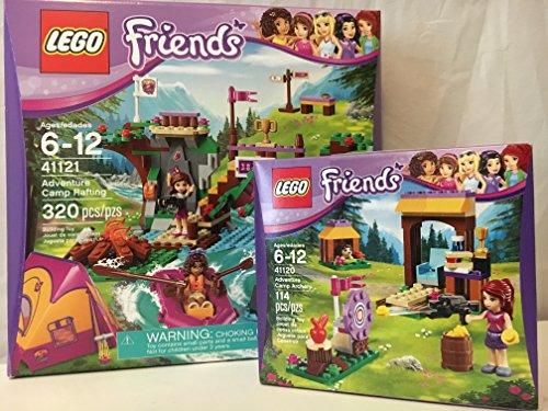 Lego Friends Adventure Camp Rafting   Lego Friends Adventure Camp Archery