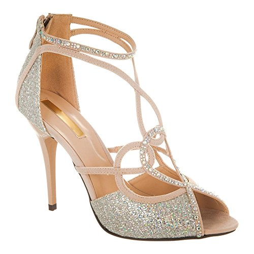Diva Miss Nude toe Peep Shoes Donna 6rxqrdw