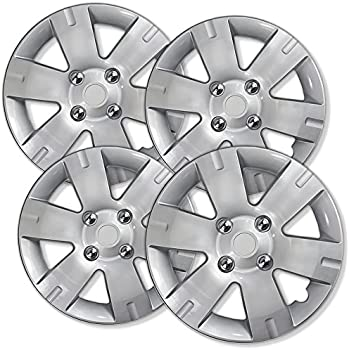 Amazon Com 15 Inch Hubcaps Best For 2007 2012 Nissan Sentra