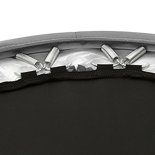Max Load 220lbs Folding Mini Exercise Trampoline for Adults Workout Cardio Exercise Training 38 Inch Gray