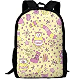 Summer Moon Fire OutdoorRucksack Hat OwlWomens Waterproof Multicolor