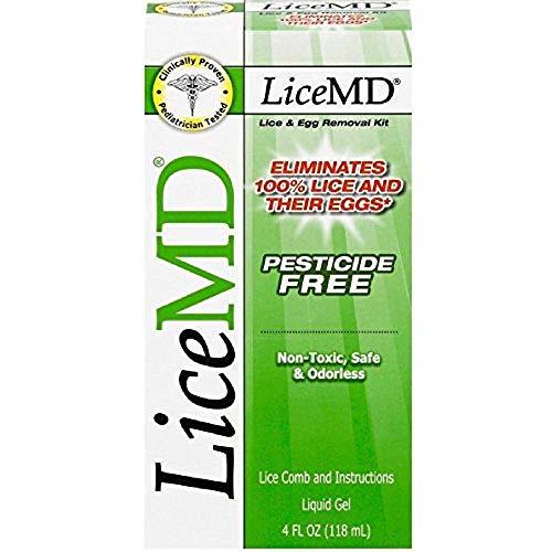 LiceMD Head Lice Treatment Kit, 4 oz (Lice Pubic)