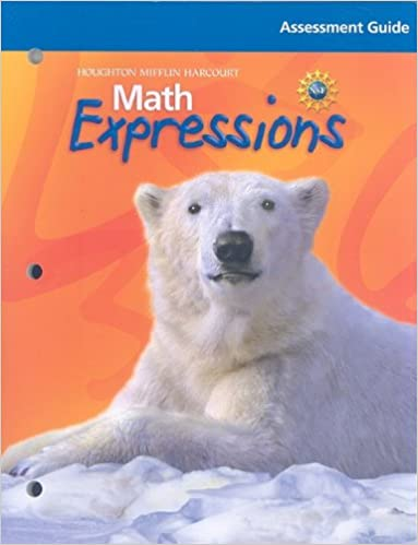 Math Worksheets houghton mifflin math worksheets grade 5 : Math Expressions: Assessment Guide Grade 4: HOUGHTON MIFFLIN ...