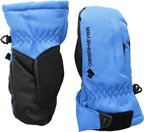 Obermeyer Kids Unisex Gauntlet Mitten (Little Kids/Big Kids) Stellar Blue LG