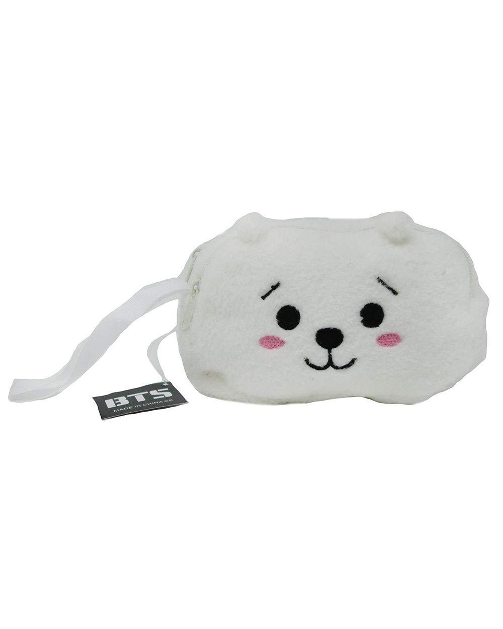 3f0518b9ae80 Amazon.com : BTS Bangtan Boys BT21 Cosmetic Bag Travel Pouch for ...