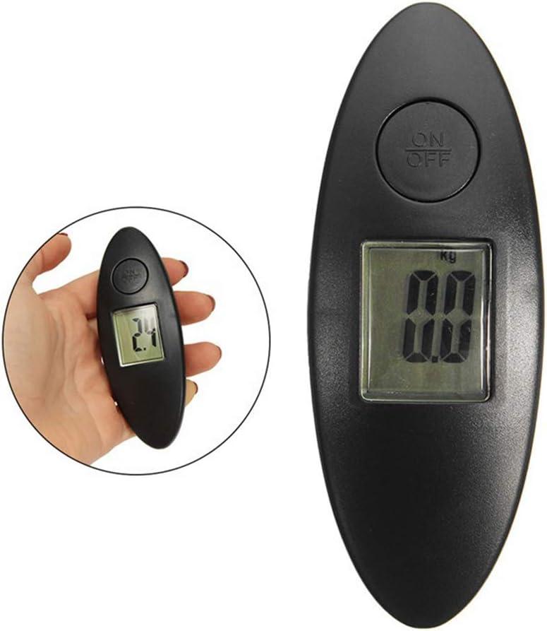 Kuizhiren1 Mini balanza digital color negro b/áscula de arco digital para herramienta de recuperaci/ón de compuestos calculadora de tensi/ón de medici/ón