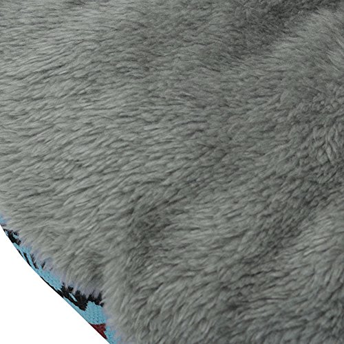 ReFaXi 1x Pet Dog Cat Bed Simple Puppy Cushion Room Warm Kennel Dog Pad Blanket New (Blue) by ReFaXi (Image #3)