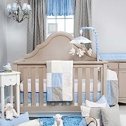 glenna jean starlight boyu0027s 3 piece crib bedding set