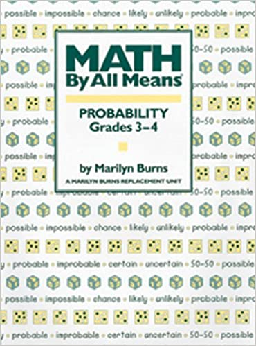 Counting Number worksheets grade 7 math probability worksheets : Amazon.com: Math By All Means: Probability, Grades 3-4 ...