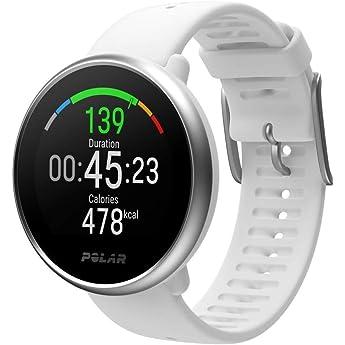 Polar Ignite – Reloj de fitness con GPS integrado, pulsómetro de muñeca, guías de entrenamiento - hombre/mujer - blanco S/M: Amazon.es: Deportes y aire libre