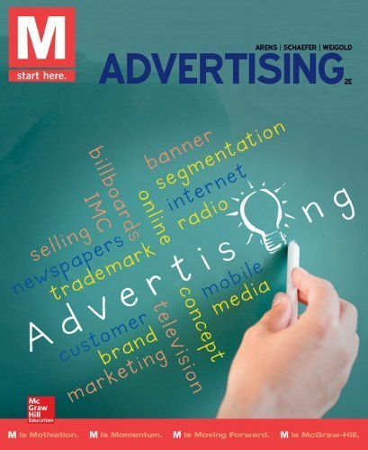 M: Advertising 2nd (second) by Arens, William, Arens, Christian, Weigold, Michael, Schaefer (2014) Paperback