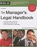 img - for The Manager's Legal Handbook book / textbook / text book