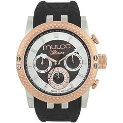 MULCO Men's MW3-11169-025 Lincoln Illusion Chronograph Analog Swiss Movement Watch