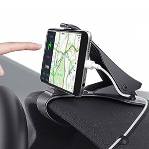 car mount hud design car phone holder gps cell phone cradle for iphone 8 7 6 6s plus. Black Bedroom Furniture Sets. Home Design Ideas