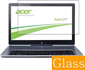 "Synvy Tempered Glass Screen Protector for Acer Aspire R7-571T / R7-G571TG 15.6"" Visible Area 9H Protective Screen Film Protectors (Not Full Coverage)"