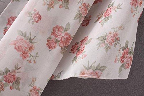 Ouneed® Poncho Quotidien Cover Up Iprime Fleur Fraîche 3/4 Manche
