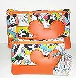 Mr. Mouse 5 x 7 Inch Zipper Pouch Coin Purse Makeup Bag