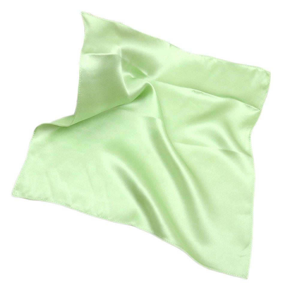 Elegant Pure Silk Handkerchief For Ladies, Green KE-CLO2474944011-AMANDA01691