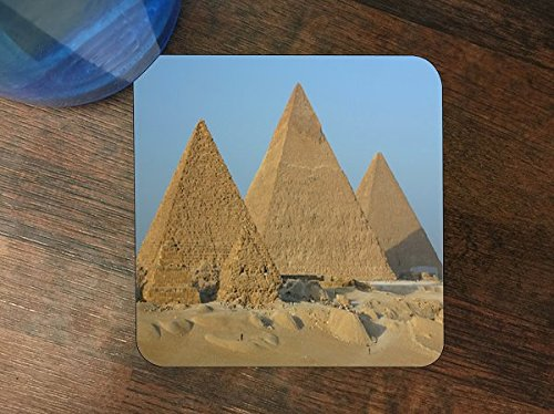 Pyramids Silicone Drink Beverage Coaster 4 Pack