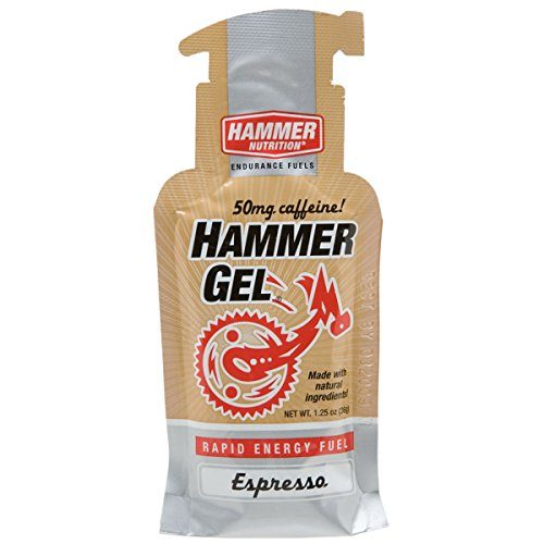 Hammer Single Serve Gel Packets (Pack of 12), Espresso