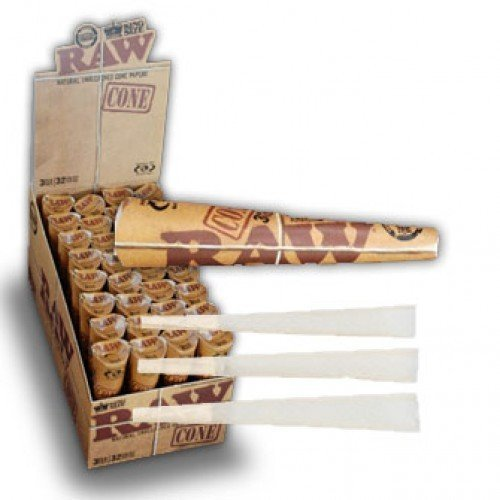 raw king size cones 32 pack - 8