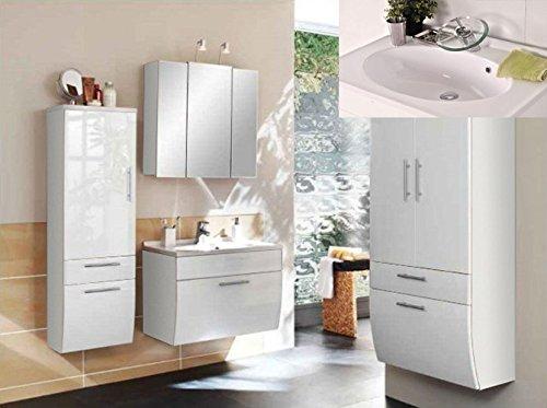 SAM® Design Badmöbel-Set Santana HS 4tlg, 70 cm, in weiß ...