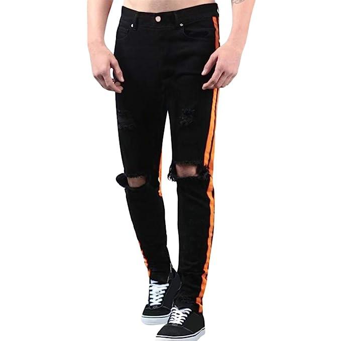GUCIStyle-ropa Pantalones Vaqueros Rotos Hombre, Jeans ...