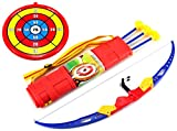 Sport Super Archery '51C Children's Kid's Toy Bow and Arrow Dart Playset w/ Suction Dart Arrows