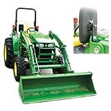 "Tractor Loader Mirror Kit LH or RH 10.5"" x 6.75"" John Deere 200CX 460 420 300X 210 430 300 410"
