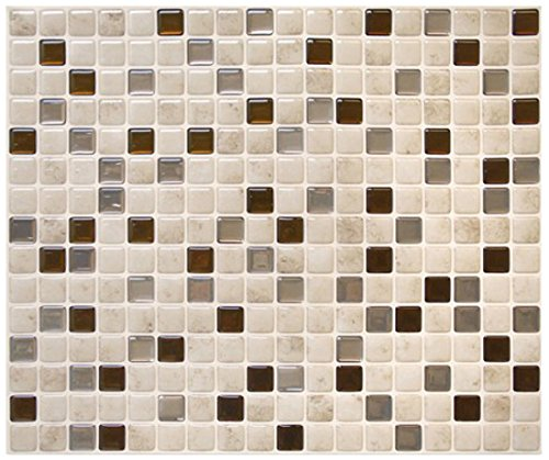 Smart Tiles Minimo Cantera 3D Gel-Otm Peel & Stick Adhesive Tiles SM1068-0