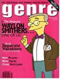 Genre Magazine (Simpsons Cover,March 1996)