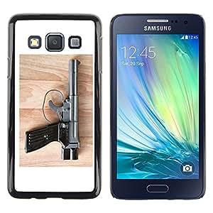 "For Samsung Galaxy A3 , S-type kompleks pistoletnyy"" - Arte & diseño plástico duro Fundas Cover Cubre Hard Case Cover"