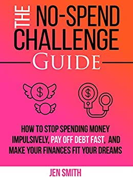 No Spend Challenge Guide Spending Impulsively ebook product image