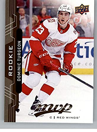 4f22c0d04a5 Amazon.com  2018-19 UD MVP  223 Dominic Turgeon RC Rookie Card Detroit Red  Wings Upper Deck 18-19 Hockey Card  Collectibles   Fine Art