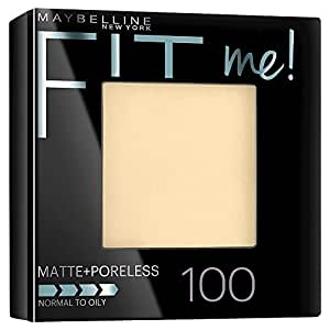 Maybelline New York Fit Me Matte Plus Poreless Powder, Translucent, 0.29 Ounce