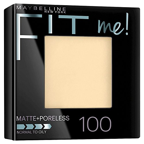 Maybelline New York Fit Me Matte Plus Poreless Powder, Translucent, 0.29 Ounce - Fit Face