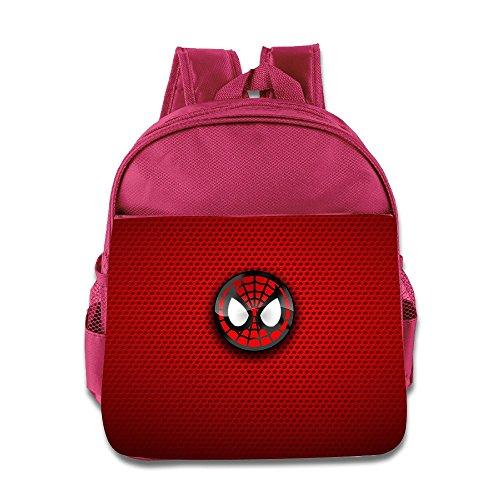 [Logon 8 Red Hero Cute Baby Boys Girls Tollder School Hiking Backpacks Bags Pink] (Infant Sylvester Costumes)