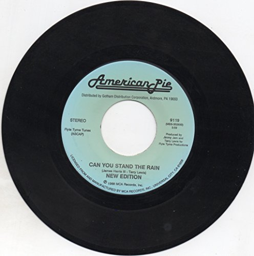 "Price comparison product image Can You Stand the Rain=b/w= Mr. Telephone Man=7""45vinyl Record"