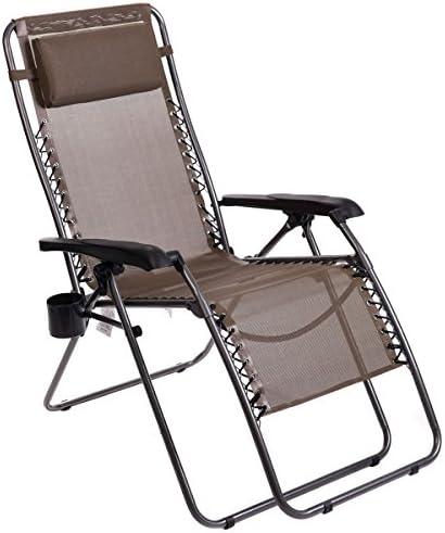 Timber Ridge Zero Gravity Chair Locking Lounge Recliner
