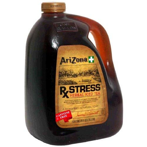 Arizona Tea, 128 Fl. Oz (Pack of 2) (Rx Stress Herbal Iced Tea)