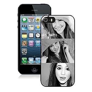 Ariana Grande 02 Black Hard Shell iPhone 5 5S Phone Case