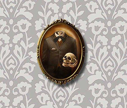 Skeleton Print - Headless - Skull Print - Victorian - Gothic - Steampunk 5