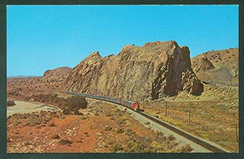 Santa Fe SUPER CHIEF Devils Footstool Los Cerrillos New Mexico Railroad - Santa Fe Cerrillos