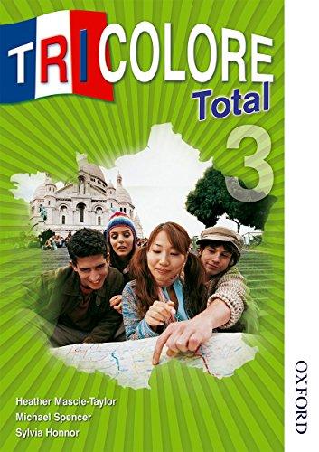 Tricolore Total 3 Student Book