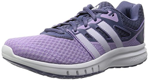 adidas Damen Galaxy 2 Laufschuhe, Bunt Weiß / Violett (Brimor / Ftwbla / Morsup)