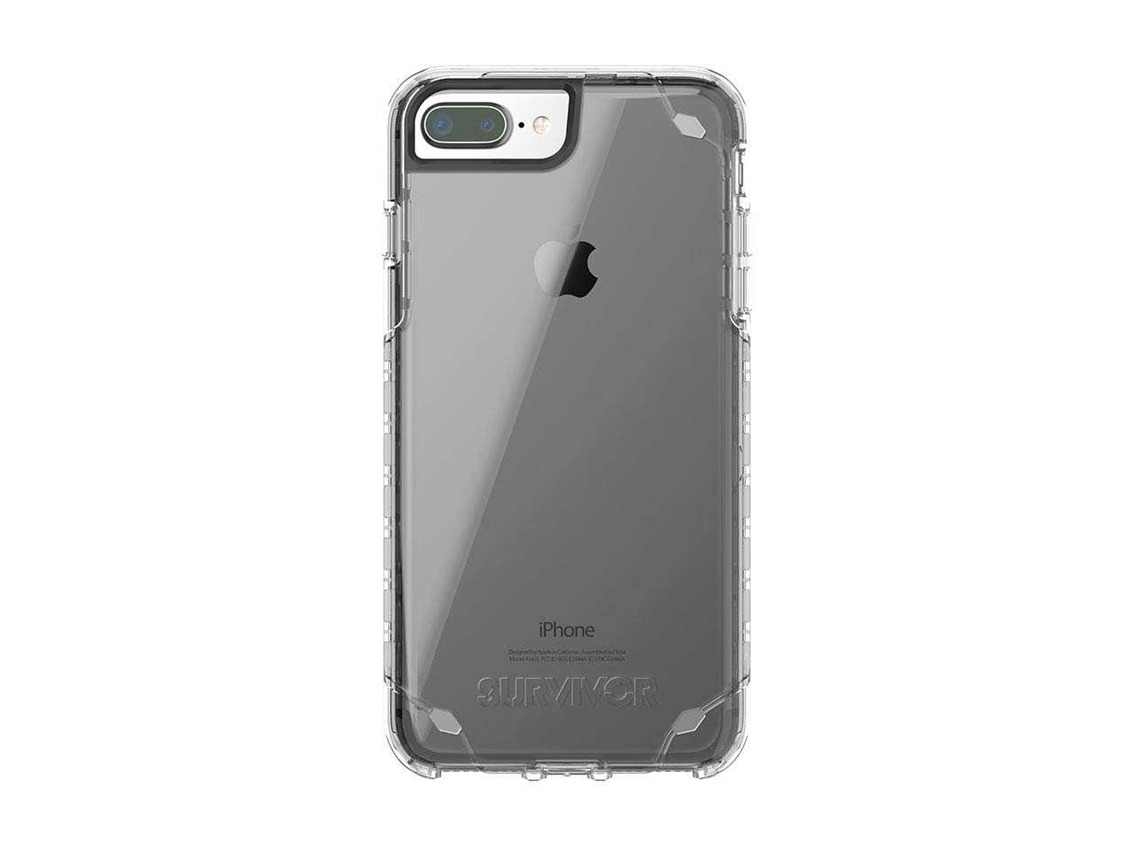 brand new 1e46b 10253 Amazon.com: Griffin Survivor Strong Case compatible with iPhone 8 ...