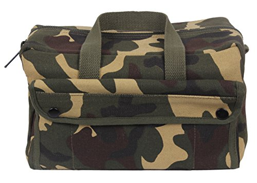 Rothco Mechanics Tool Bag - Woodland Camo